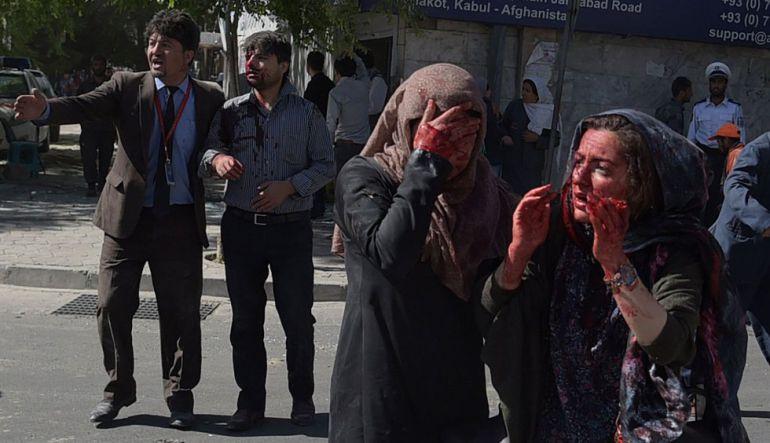 Atentado en Kabul deja 80 muertos y 350 heridos