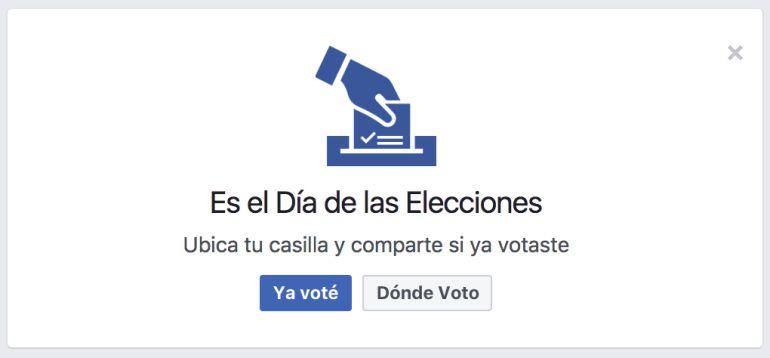 """Facebook activará """"Megáfono Electoral"""" durante este 4 de junio"""