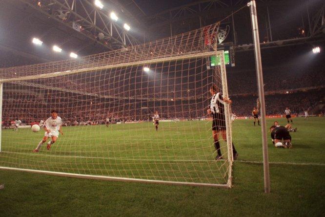 La Final de la Champions League entre Real Madrid y Juventus en 1998