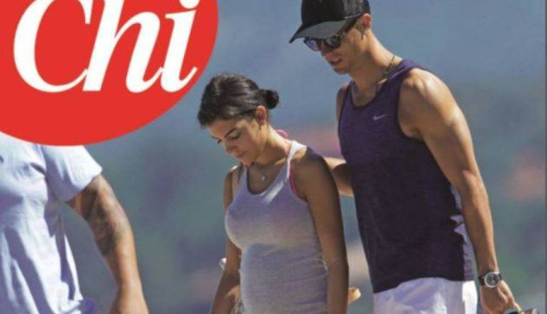 Se rumora que Cristiano Ronaldo y su novia esperan gemelos