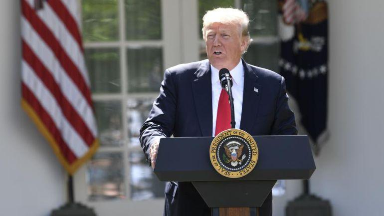 Anuncia Trump salida de EU del Acuerdo de París