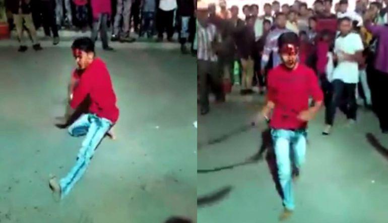 experto bailarines baile