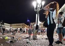 Detonación en Turín provoca estampida durante la Final de la Champions