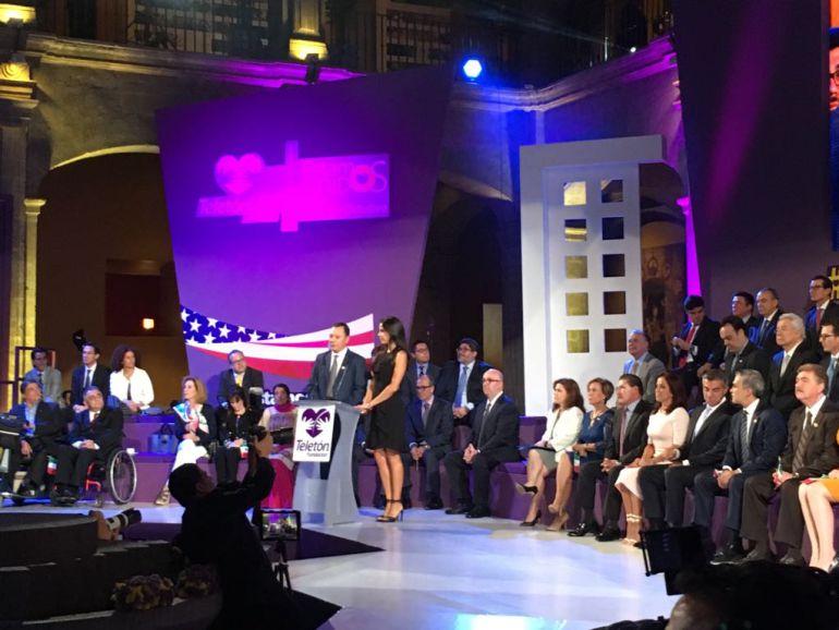 Celebran unión de Teletón de México y EU