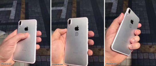 Surgen imágenes de supuesto iPhone 8 con sensor de huellas trasero