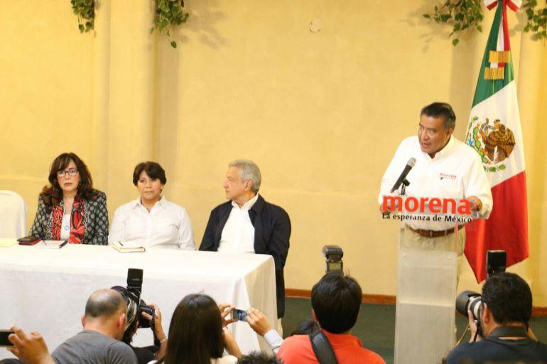 AMLO pide a EPN que deje de intervenir en elecciones de Edomex