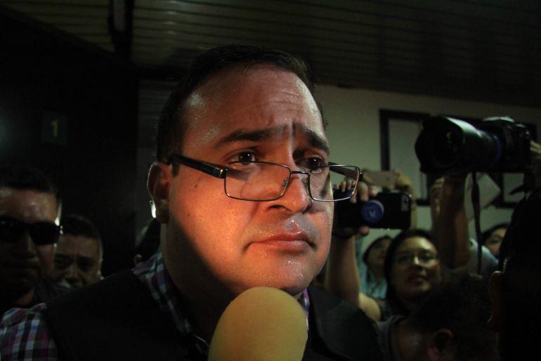 Pide México a Guatemala extradición de Javier Duarte