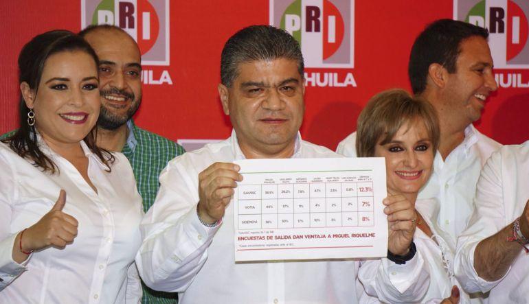 Conteo final de votos da triunfo a Riquelme en Coahuila