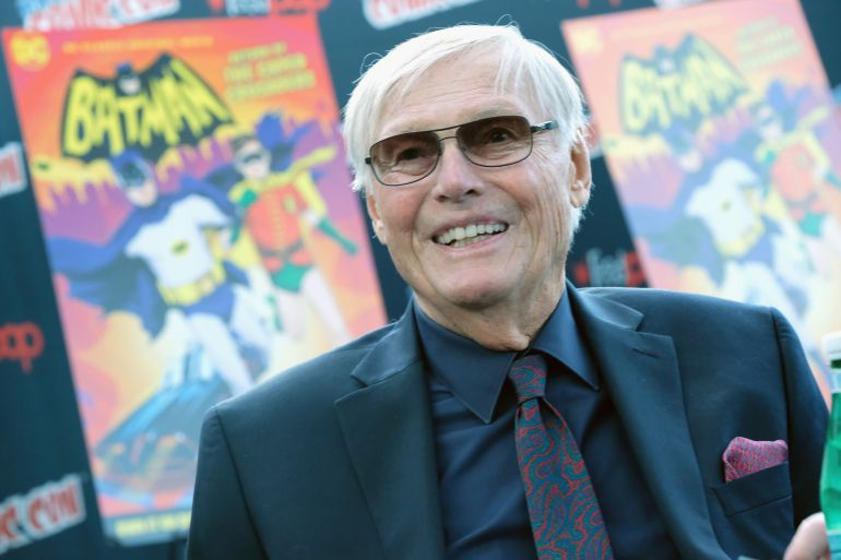 Fallece el actor Adam West, primer Batman de la televisión