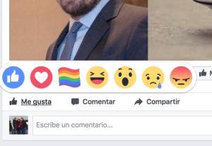 Facebook lanza reacción en el mes del Orgullo Gay