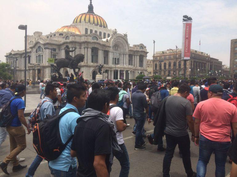 """Sin incidentes concluye marcha para recordar """"El Halconazo"""""""