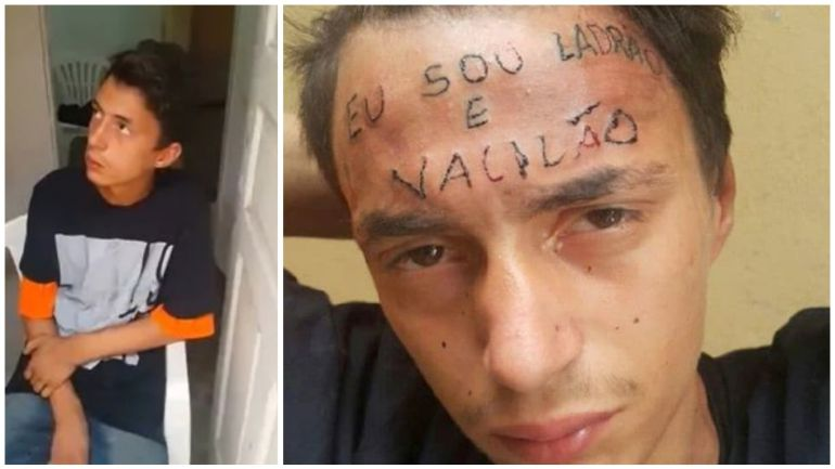 Joven entra a robar a un estudio de tatuajes y sale tatuado
