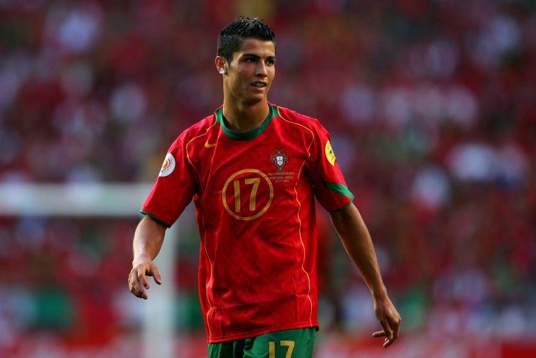 A 13 años del primer gol de Cristiano Ronaldo con Portugal