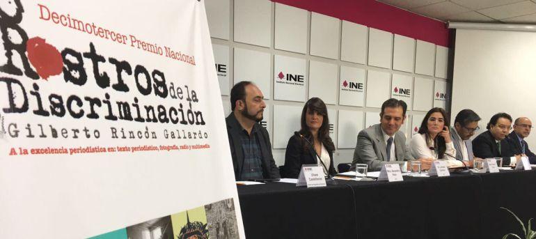 Convocan a periodistas a participar en el Premio Rostros de la Discriminación
