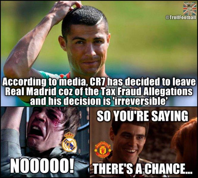 """Me voy del Madrid"": CR7"