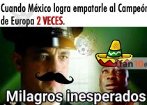 Los memes festejan el empate entre México y Portugal