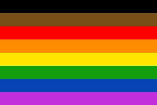 Se añaden dos colores a la bandera LGBT+