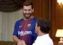 La divertida charla entre Iker Casillas y ¿Lionel Messi?