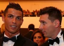 """La """"felicitación"""" de Cristiano Ronaldo a Lionel Messi en Whatsapp"""