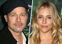 Cachan a Brad Pitt y Sienna Miller muy románticos en Glastonbury