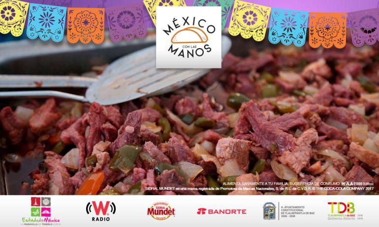 ¡Disfruta lo mejor de la gastronomía de calle en 'México con las manos'!