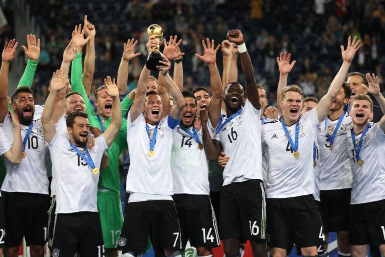Alemania vence 1-0 a Chile y es campeona de la Copa Confederaciones