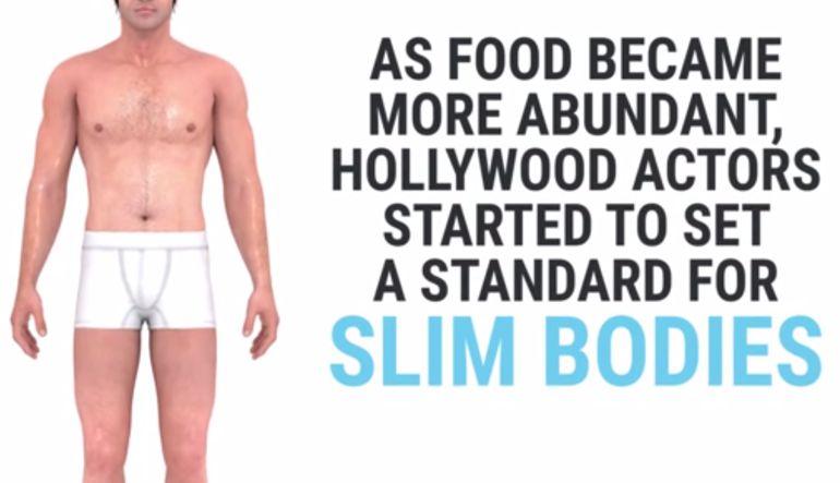 Evolución:: Mira cómo ha cambiado el cuerpo ideal de los hombres en 150 años