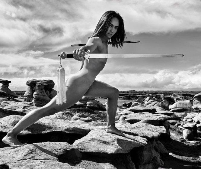 Michelle Waterson, luchadora estadounidense de artes marciales mixtas (MMA)