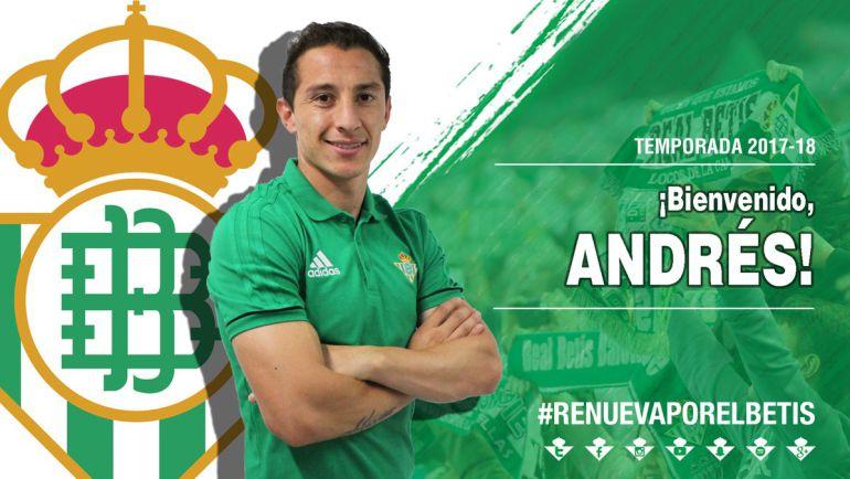 Betis: Presentan a Andrés Guardado como si fuera un boxeador