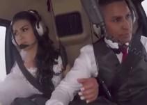 Novia pierde la vida mientras se dirigía en helicóptero a su boda