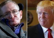 Stephen Hawking critica nuevamente a Donald Trump sobre el cambio climático