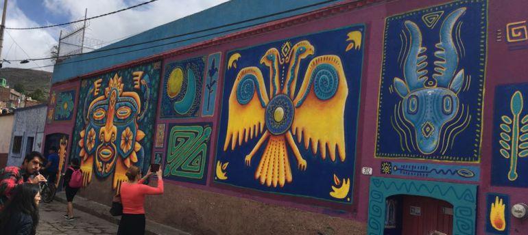 Ponen en marcha Ciudad Mural Zacatecas