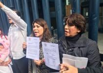 Delfina Gómez acude a PGR para exigir investiguen feminicidios en Edomex y CDMX
