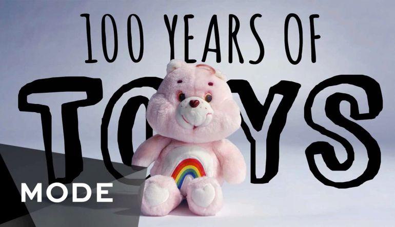 [VIDEO] 100 años de juguetes en menos de 3 minutos