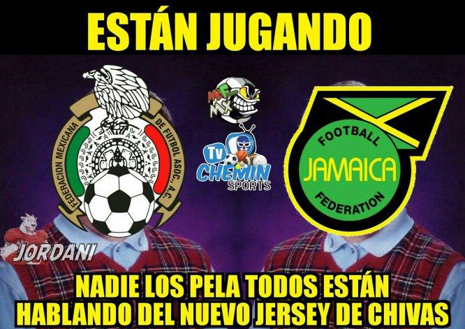 El Tricolor empata sin goles con Jamaica y estos son los mejores memes