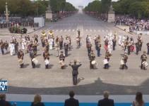 [VIDEO] Daft Punk suena en el desfile militar francés del 14 de julio