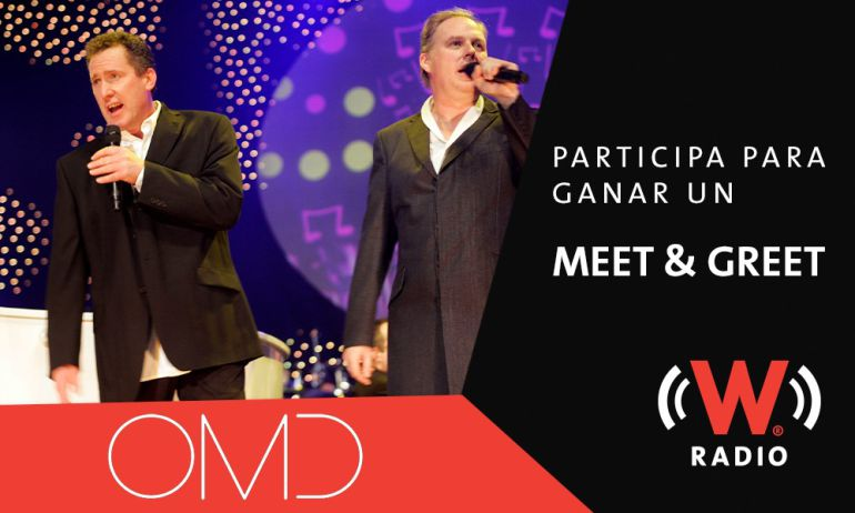 Participa para ganar un Meet&Greet con OMD