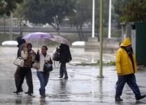 Continuarán tormentas muy fuertes en gran parte del país