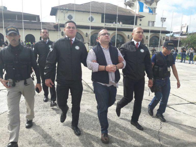 México agradece a Guatemala entrega de Javier Duarte de Ochoa