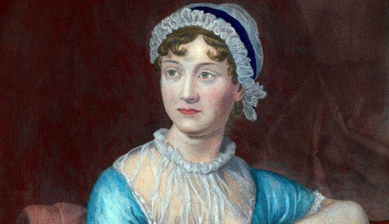 Retrato de Jane Austen realizado por su hermana Cassandra