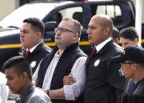 Dictan prisión preventiva a Javier Duarte en el Reclusorio Norte