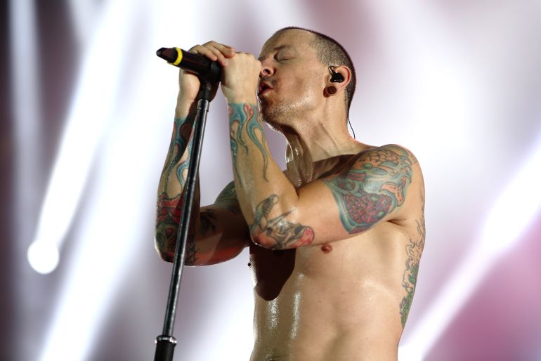 Rock alternativo:: Hallan muerto a Chester Bennington, vocalista de Linkin Park