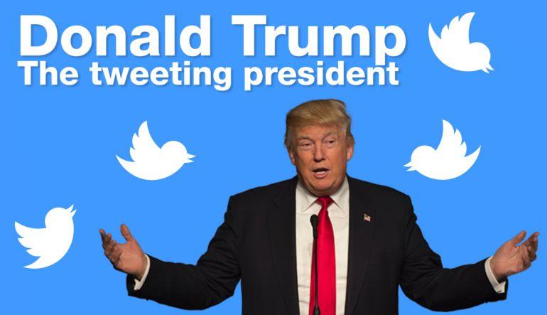 Al menos un 67% de estadounidenses desaprueba la manera en que Donald Trump tuitea
