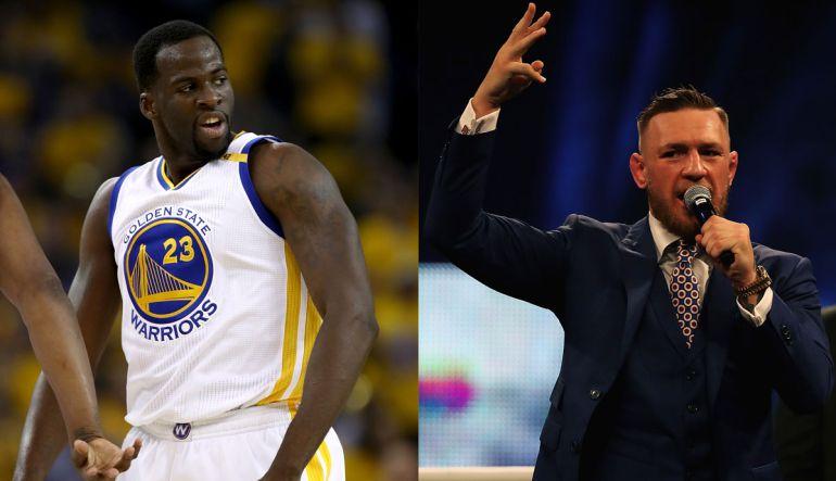 Conor McGregor se hace de palabras con un jugador de la NBA