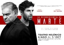 """Joaquín Cosío y José María de Tavira protagonizan """"La desobediencia de Marte"""""""