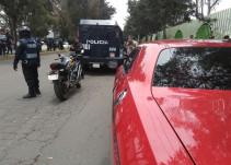 Tras persecución, la SSP detiene a tres personas en Tláhuac