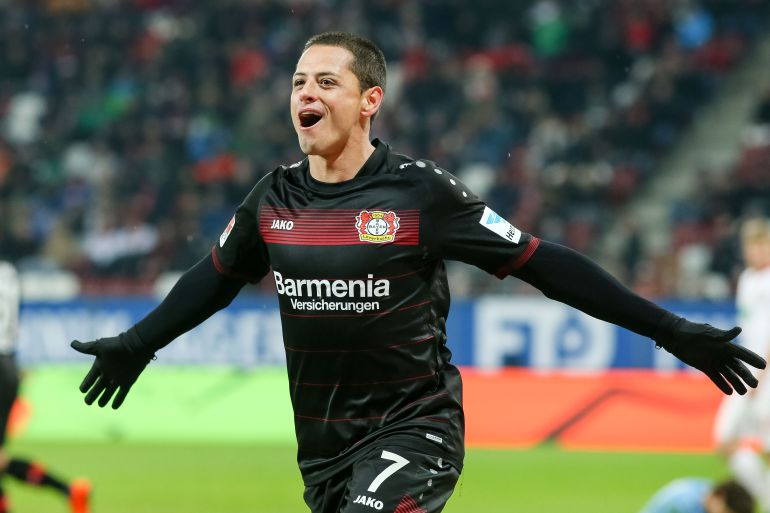 """Chicharito"" se despide del Bayer Leverkusen"