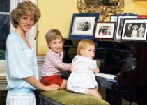 Príncipes Guillermo y Harry recuerdan a su madre 20 años después de su muerte