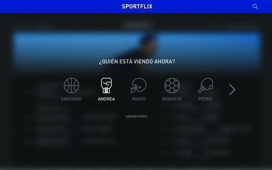 Conoce 'Sportflix', el Netflix deportivo que llegará en agosto
