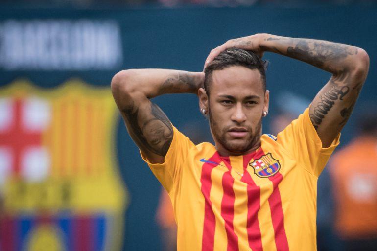 FC Barcelona: Neymar casi llega a los golpes con uno de sus compañeros en un entrenamiento